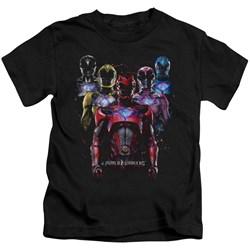 Power Rangers - Youth Team Of Rangers T-Shirt