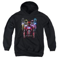 Power Rangers - Youth Team Of Rangers Pullover Hoodie