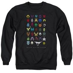 Power Rangers - Mens Villians Sweater