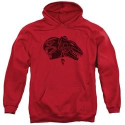 Power Rangers - Mens Red Pullover Hoodie