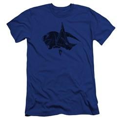 Power Rangers - Mens Blue Premium Slim Fit T-Shirt