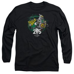 Power Rangers - Mens Green 25 Long Sleeve T-Shirt
