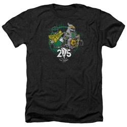 Power Rangers - Mens Green 25 Heather T-Shirt