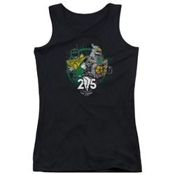 Power Rangers - Juniors Green 25 Tank Top