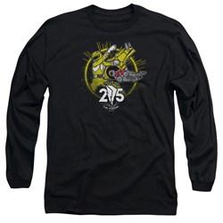 Power Rangers - Mens Yellow 25 Long Sleeve T-Shirt