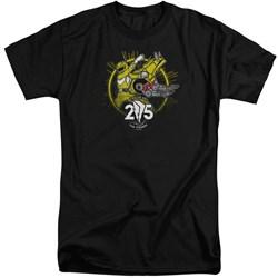 Power Rangers - Mens Yellow 25 Tall T-Shirt