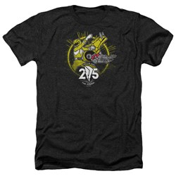 Power Rangers - Mens Yellow 25 Heather T-Shirt