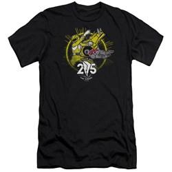Power Rangers - Mens Yellow 25 Premium Slim Fit T-Shirt