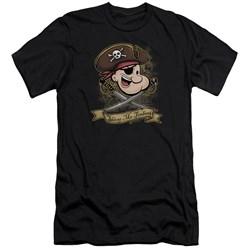Popeye - Mens Shiver Me Timbers Premium Slim Fit T-Shirt