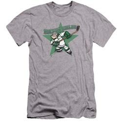 Popeye - Mens Spinach Leafs Premium Slim Fit T-Shirt