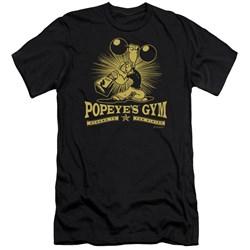 Popeye - Mens Popeyes Gym Premium Slim Fit T-Shirt