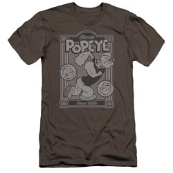 Popeye - Mens Classic Popeye Premium Slim Fit T-Shirt