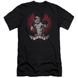Popeye - Mens Undefeated Premium Slim Fit T-Shirt