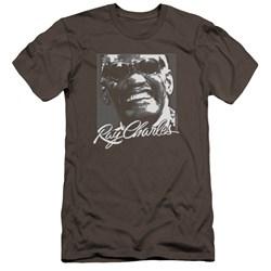 Ray Charles - Mens Signature Glasses Premium Slim Fit T-Shirt