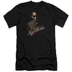 Ray Charles - Mens The Deep Premium Slim Fit T-Shirt