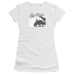 Ray Charles - Juniors Sunny Ray Premium Bella T-Shirt