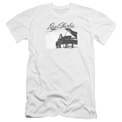 Ray Charles - Mens Sunny Ray Premium Slim Fit T-Shirt
