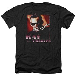 Ray Charles - Mens Sing It Heather T-Shirt