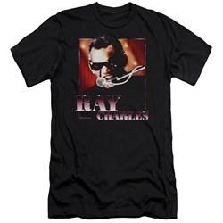 Ray Charles - Mens Sing It Premium Slim Fit T-Shirt