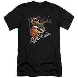 Ray Charles - Mens Soul Premium Slim Fit T-Shirt