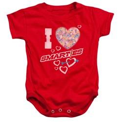 Smarties - Toddler I Heart Smarties Onesie