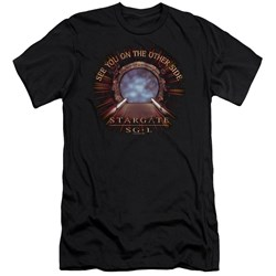 Sg1 - Mens Other Side Premium Slim Fit T-Shirt