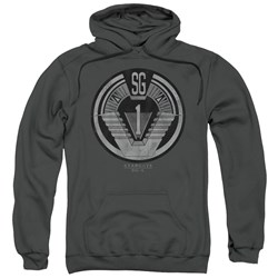 Sg1 - Mens Team Badge Pullover Hoodie