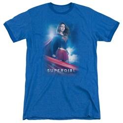 Supergirl - Mens Kara Zor El Ringer T-Shirt