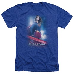 Supergirl - Mens Kara Zor El Heather T-Shirt