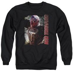 Supergirl - Mens Red Tornado Sweater