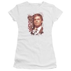 Dexter - Juniors Splatter Premium Bella T-Shirt