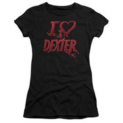 Dexter - Juniors I Heart Dexter Premium Bella T-Shirt