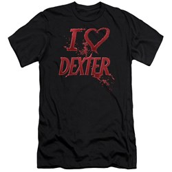 Dexter - Mens I Heart Dexter Premium Slim Fit T-Shirt