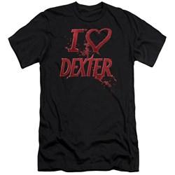 Dexter - Mens I Heart Dexter Premium Slim Fit T-Shirt