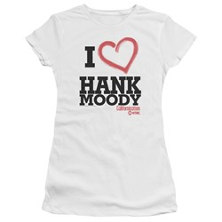 Californication - Juniors I Heart Hank Moody Premium Bella T-Shirt