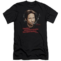 Californication - Mens Morning Night Premium Slim Fit T-Shirt