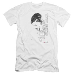 The L Word - Mens Looking Shane Today Premium Slim Fit T-Shirt
