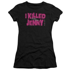 The L Word - Juniors I Killed Jenny Premium Bella T-Shirt