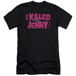 The L Word - Mens I Killed Jenny Premium Slim Fit T-Shirt