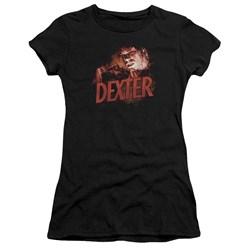 Dexter - Juniors Drawing Premium Bella T-Shirt