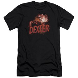 Dexter - Mens Drawing Premium Slim Fit T-Shirt