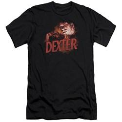 Dexter - Mens Drawing Premium Slim Fit T-Shirt