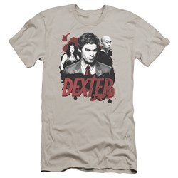 Dexter - Mens Bloody Trio Premium Slim Fit T-Shirt