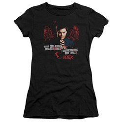 Dexter - Juniors Good Bad Premium Bella T-Shirt