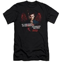 Dexter - Mens Good Bad Premium Slim Fit T-Shirt