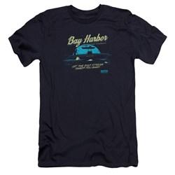 Dexter - Mens Moonlight Fishing Premium Slim Fit T-Shirt