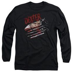 Dexter - Mens Blood Never Lies 2 Long Sleeve T-Shirt