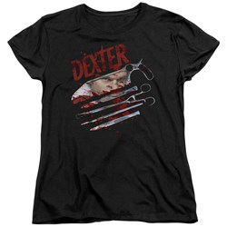 Dexter - Womens Blood Never Lies 2 T-Shirt