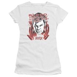 Dexter - Juniors Blood Premium Bella T-Shirt