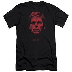 Dexter - Mens Bloody Face Premium Slim Fit T-Shirt